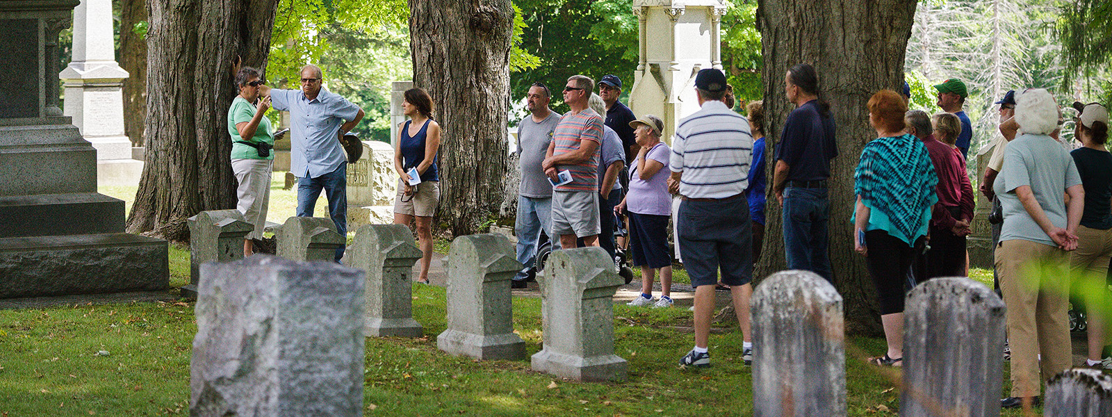 Annual tour of the Fort Plain Cemetery