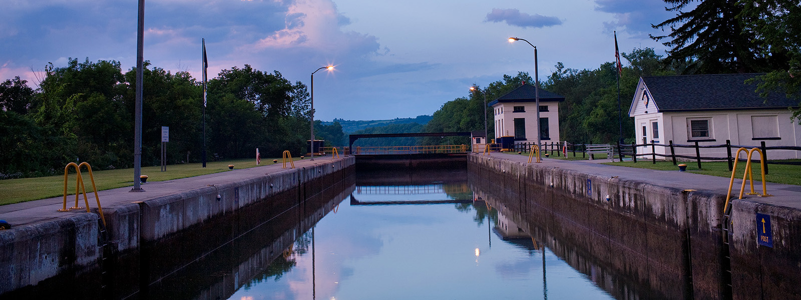 Erie Canal Lock 16 in Mindenville