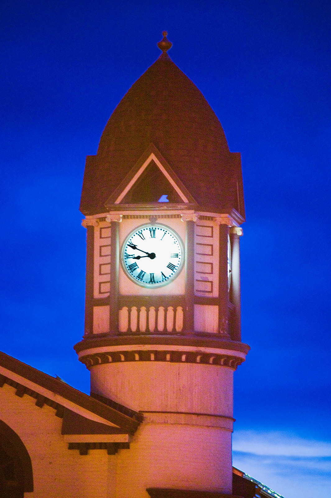Clock tower Fort Plain