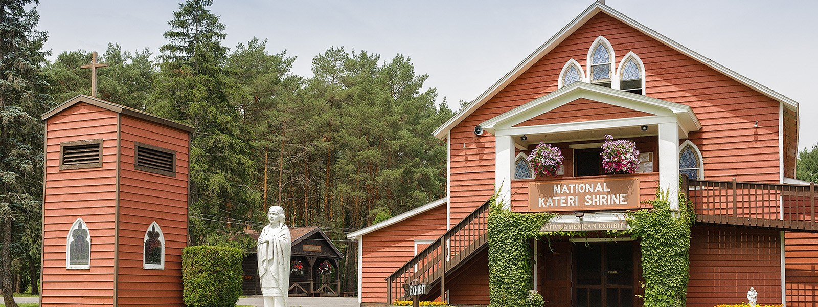 Blessed Kateri Tekakwitha Memorial Shrine