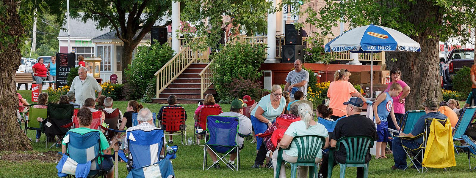 Concert in Haslett Park