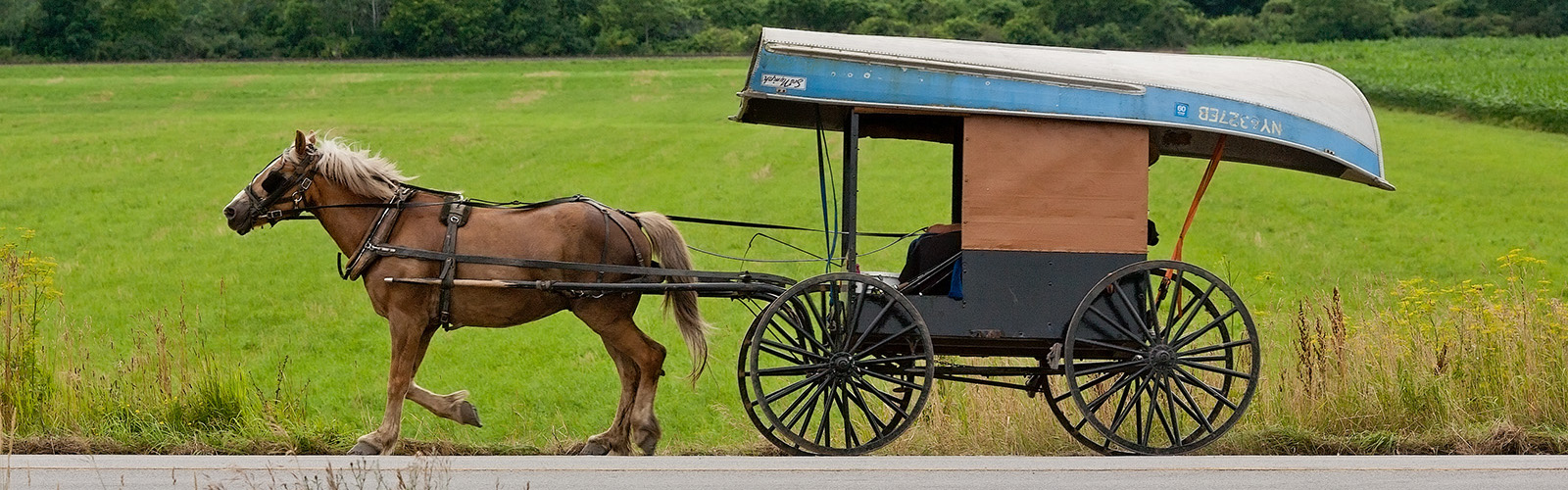 Amish recreation on route 5, the old King's Highway