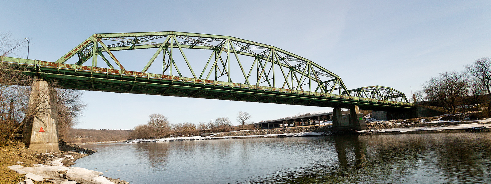 The bridge of Palatine Bridge